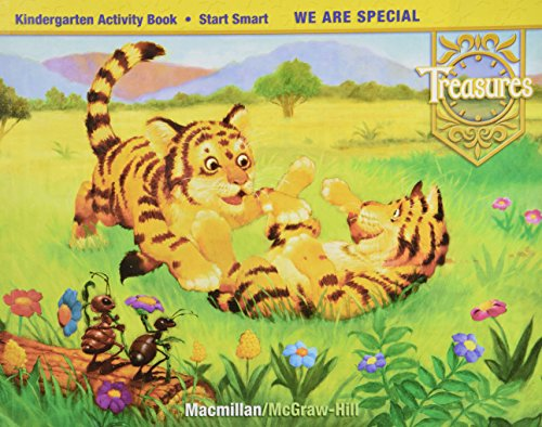 9780021937813: Treasures: Kindergarten Activity Books Unit 1 - 10 and a Start Smart (Set of 10)