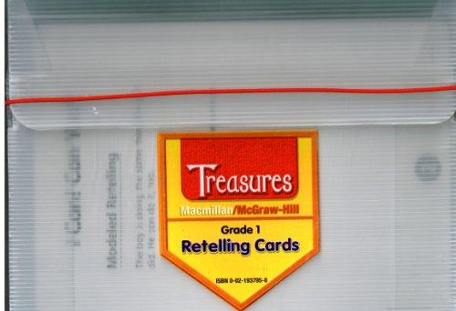 9780021937950: Grade 1 ReTelling Cards (Treasures)
