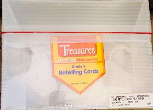 9780021938025: Grade 2 Retelling Cards (Treasures)