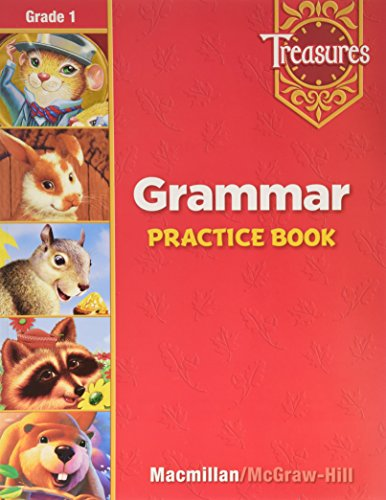 9780021938995: Treasures a Reading/Language Art Program Grammar : Grade 1