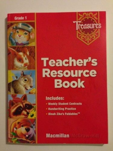9780021939114: Macmillan McGraw-Hill Treasures Teacher's Resource Book Kindergarten Level