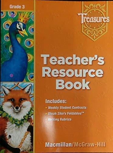9780021939145: Treasures, Grade 3 - Teacher's Resource Book