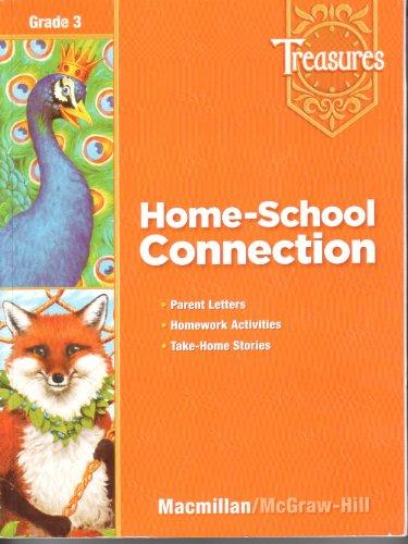 9780021939220: Treasures, Grade 3 - Home-School Connection