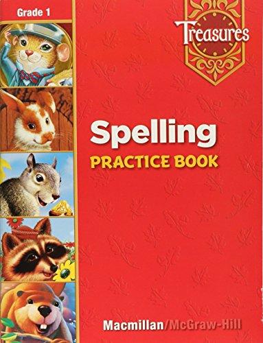 9780021939268: Treasures: Spelling Practice Book, Grade 1