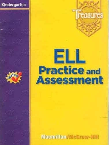 9780021939299: Treasures Unit and Benchmark Assessment Kindergarten (Tested)