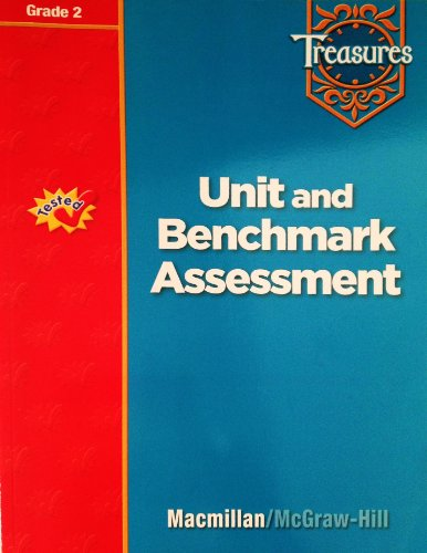 9780021939329: Treasures Unit and Benchmark Assessment, Grade 2