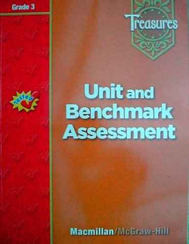 9780021939336: Treasures Unit and Benchmark Assessment Grade 3