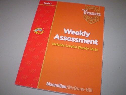 9780021939398: Weekly Assessment Treasures Grade 3