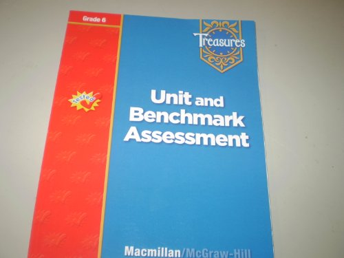 9780021939459: Treasures Unit and Benchmark Assessment Grade 6