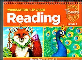 9780021939671: Treasures, Grade 3, Workstation Flip Chart - Reading