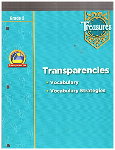 9780021940080: Transparencies (Vocabulary - Vocabulary Strategies) Grade 2 Treasures