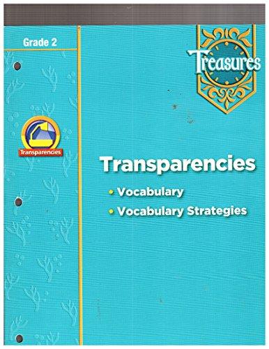 9780021940080: Transparencies (Vocabulary - Vocabulary Strategies) Grade 2 Treasures
