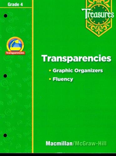 9780021940363: Treasures Grade 4 Transparencies Graphic Organizers Fluency