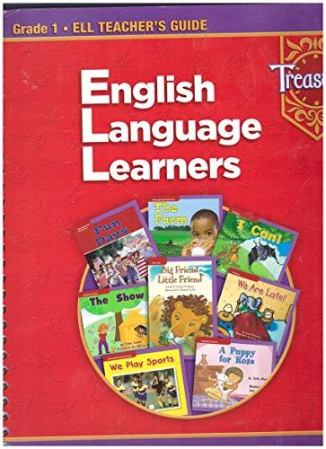 9780021940790: Treasures ELL Teacher's Guide English Language Learners Grade 1