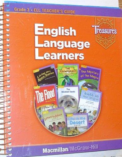 9780021940820: Treasures 3 English Language Learners (Teacher's Guide Grade 3)