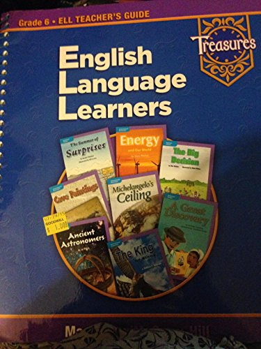 9780021940851: Treasures: English Language Learners (Grade 6 ELL Teacher's Guide)