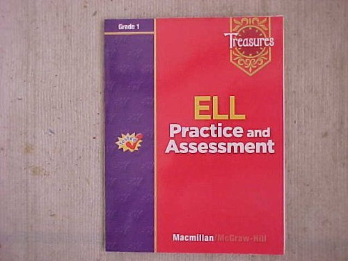 9780021940875: Treasures ELL Practice and Assessment Grade1 (Grade One)