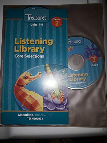 9780021943432: Treasures Listening Library Grade 2 Units 1-6 (Leveled Readers Audio CD Approaching Level)