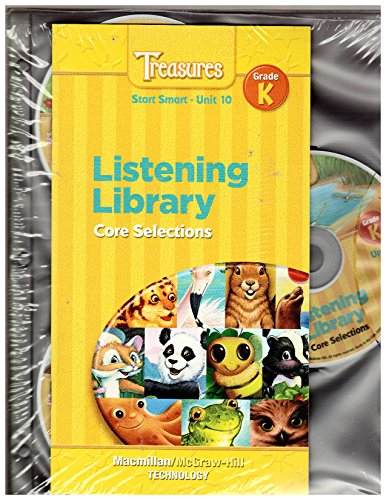 9780021944040: Treasures Grade K/ Listening Library Core Selections Audio CD