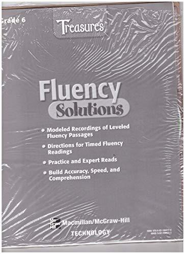 9780021944170: Macmillan McGraw-Hill Treasures Grade 6: Fluency Solutions (Treasures)