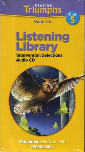9780021944248: Reading Triumphs Listening Library Units 1-6 Intervention Selections
