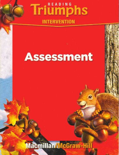 9780021947195: Assessment (Reading Triumphs Intervention) Grade 1