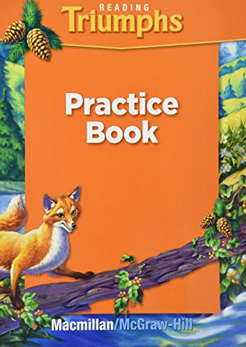 9780021947287: Reading Triumphs Practice Book Grade 3