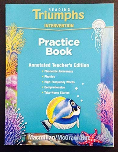 9780021947348: Reading Triumphs Intervention Practice Book - Teacher's Edition