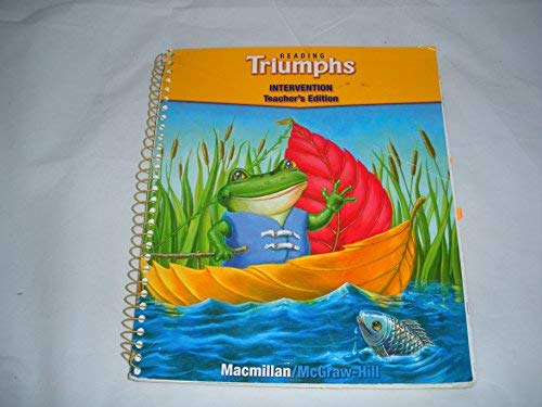 9780021947676: Treasures Reading Triumphs, Intervention, Teacher's Edition