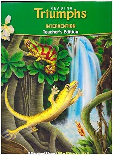 9780021947720: Reading Triumps Intervention Teacher's Edition Macmillan/McGraw Hill