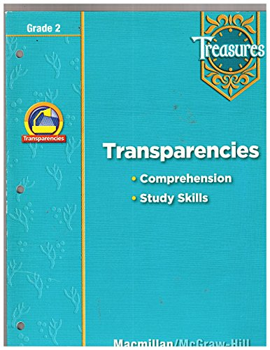 9780021947973: Transparencies (Comprehension - Study Skills) Grade 2 Treasures