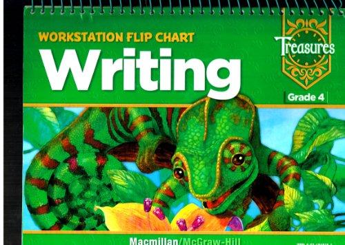 9780021948154: Treasures Workstation Flip Chart Writing - Grade 4