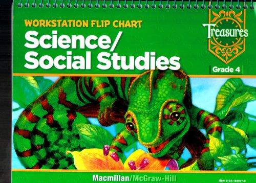 9780021948178: Treasures Workstation Flip Chart Science/ Social Studies Grade 4 (Workstation Flip Chart Science/Social Studies, Grade 4)