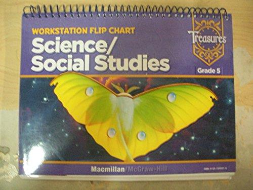 Macmillan McGraw Hill Science/ Social Studies Grade5 5 Workstation Flip Chart. (Spiral-Bound)