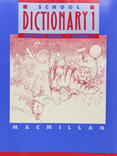 9780021950096: Macmillan Dictionary: Activity Book for Grade 3