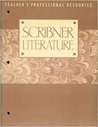 9780021958306: Scribner Literature: Teacher's Professional Resources