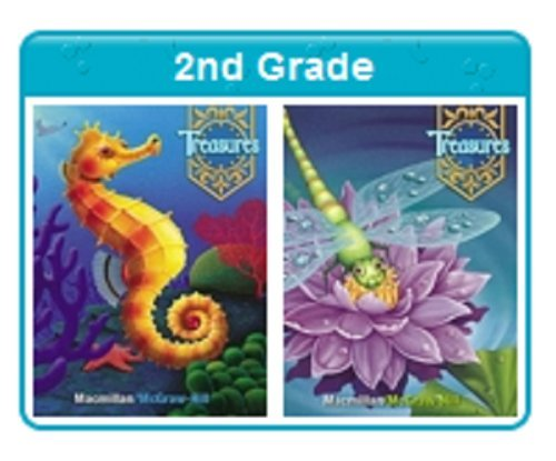 9780021962792: Macmillan McGraw Hill Treasures Grade 2 Listening Library Leveled Readers Audio CD Set English Language Learners Units 1-6