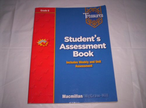 9780021970278: Treasures Grade 6 Student's Assessment Book