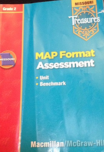 9780021975341: Macmillan McGraw Hill Treasures Grade 2 MAP Format Assessment Missouri Unit Benchmark Tests 2nd