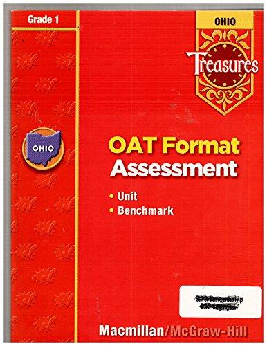 9780021975518: Ohio Treasures OAT Format Assessment Unit Benchmark Grade 1
