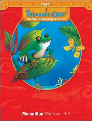 9780021977383: Macmillan McGraw Hill Treasure Chest For English Language Learners ELL Grade 1 Listening Library Leveld Readers Intermediate Level Audio CD Set Units 1-6