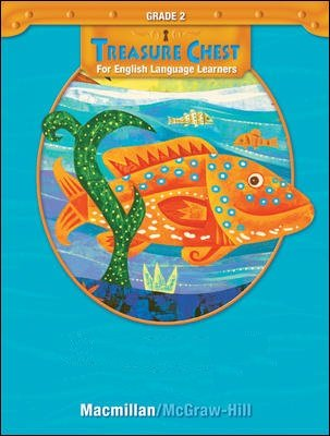 9780021977390: Macmillan McGraw Hill Treasure Chest For English Language Learners ELL Grade 2 Listening Library Leveled Readers Intermediate Level Audio CD Set Units 1-6