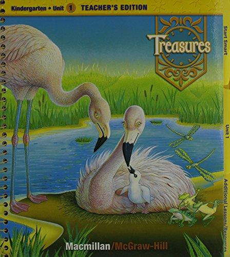 9780021988167: Treasures, a Reading/Language Arts Program, Grade K, Unit 1 Teacher Edition
