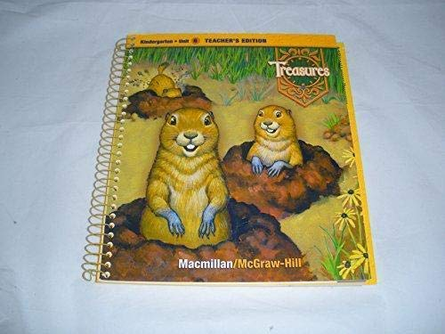 9780021988211: Treasures, A Reading/Language Arts Program, Grade K, Unit 6 Teacher Edition (ELEMENTARY READING TREASURES)