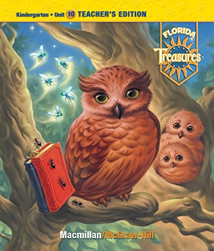 9780021988259: Treasures, a Reading/Language Arts Program, Grade K, Unit 10 Teacher Edition