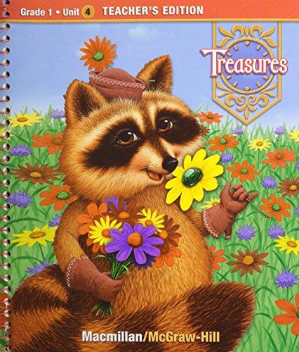 9780021988303: Treasures, a Reading/Language Arts Program, Grade 1, Unit 4 Teacher Edition