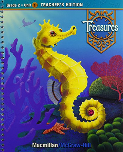 9780021988334: Treasures: A Reading/Language Arts Program, Grade 2, Unit 1 Teacher Edition