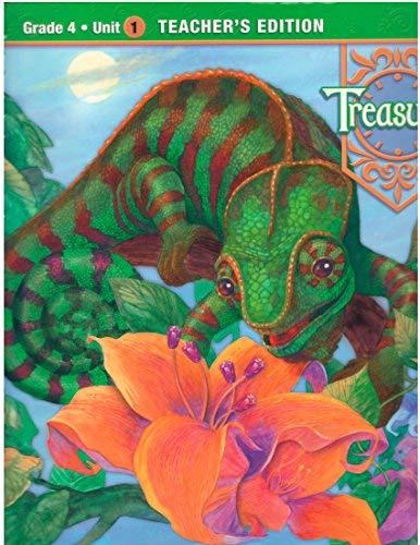 9780021988457: Grade 4 Unit 1 Treasures Teacher's Edition Macmillan McGraw-Hill 2009