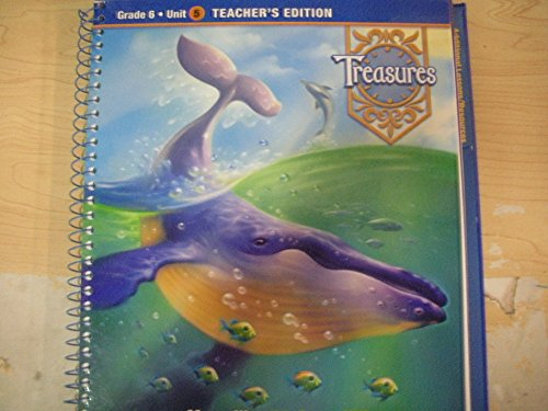 9780021988617: Treasures A Reading/language Arts Program (Grade 6 Unit 5, Teacher's Edition)
