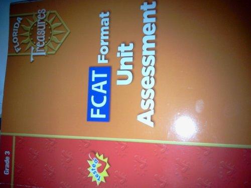 9780021990658: FCAT Format Unit Assessment Grade 3 (Florida Treasures)